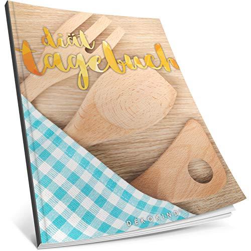 Dékokind® Diät-Tagebuch: Clevere 90 Tage Challenge zum Abnehmen || Das Abnehmtagebuch / Ernährungstagebuch zum Ausfüllen || C_30