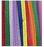 Fils Chenille Multicolore Enfants Puzzle Twist Sticks 100pcs Couleur en Peluche en Cuir Bricolage Maternelle À La Main Matériel Enfants Créatifs Jouets Éducatifs DIY Art Doll Bricolage Matériaux...