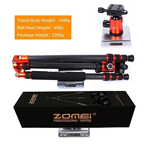 Get Zomei Portable Carbon Fiber Camera Tripod With Ball Head Pocket – Z818C (Orange) on Line