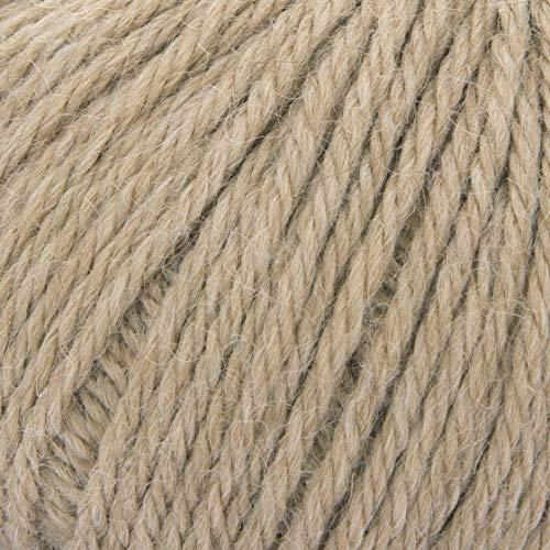 ggh Baby Alpaka Natur - 003 - Karton - 100% bestes Baby Alpaka, ungefärbt, 50g Knäuel, Lauflänge 100m, Nadelstärke 3,5-4,5, Stricken, häkeln - Alpaka-wolle Stricken Pullover