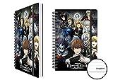 Death Note Collage software di in un formato A5-Formato 15x 21cm