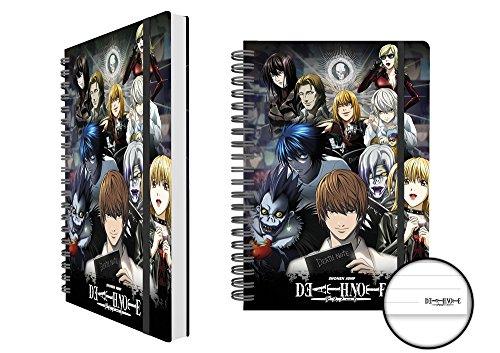 Death Note Taccuino, Collage licenza in pratico formato A5-dimensioni 15x 21cm