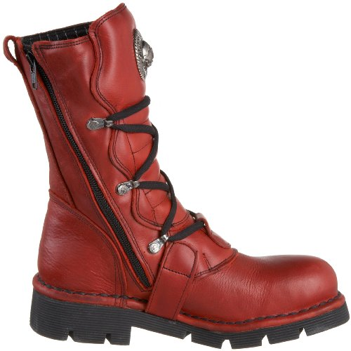 New Rock M 1473 S12, Boots femme Rouge (Nature Rojo/Planing Negro Sin C)