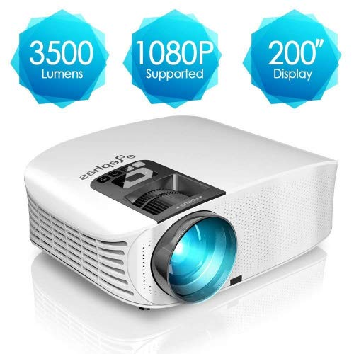 ELEPHAS Projector, 3600 Lumens H...