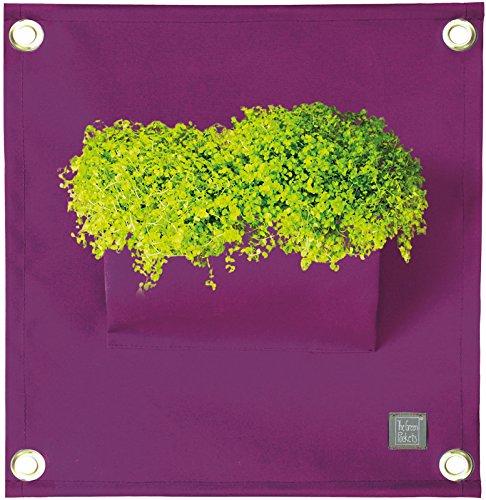 Poche de Plantation Mural en Tissu Acrylique - Grand Choix de Couleurs (Violet)