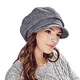 Kenmont Winter dame Sechseck hat tridimensional Barett kappe edle Qualität Hut