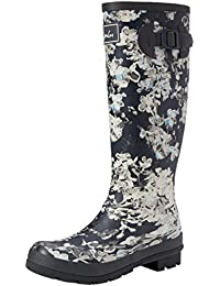 Joules Wellyprint - Botas de lluvia Mujer