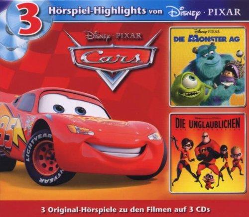 Disney 3 CD Pixar - Box