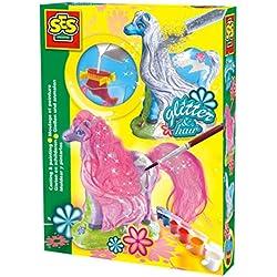 SES Deutschland 01272 Caballos - Set para modelar y pintar figuras de yeso [importado de Alemania]