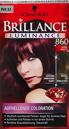 Brillance Coloration Stufe 3, 860 Ultraviolett, 143 ml