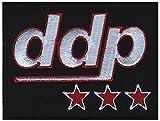 DDP - Aufnäher, Farbe: Schwarz/Weiß/Rot