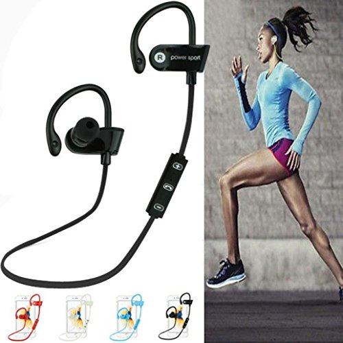 cuffie Bluetooth, cuffie stereo in-ear wireless di FEITONG (Viola Bluetooth)