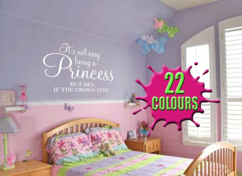its-not-easy-being-a-princess-but-hey-if-the-crown-fits-childrens-wall-quote-medium-by-wondrous-wall