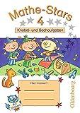 Mathe-Stars: Knobelaufgaben und Sachaufgaben, 4. Schuljahr