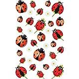 Maildor 17.5 x 9 x 0.2 cm Plastic Cooky Ladybird Stickers