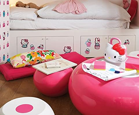 Sanrio Hello Kitty – 24pièces DF23860 décoration murale stickers muraux