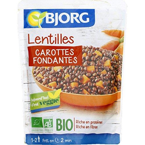 bjorg Lentilles carottes, bio ( Prix unitaire ) - Envoi Rapide Et Soignée