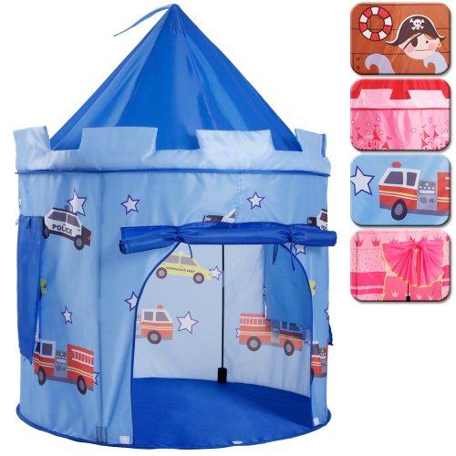 Preisvergleich Produktbild Infantastic Kinderzelt Kinderschloss Burg für drinnen & draußen verschiedene Modelle Spielzelt inkl. Tasche