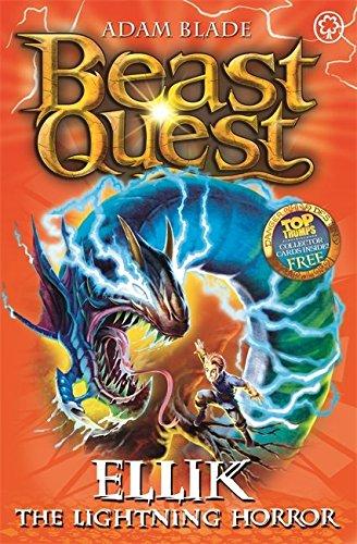 Ellik the Lightning Horror: Series 7 Book 5 (Beast Quest)