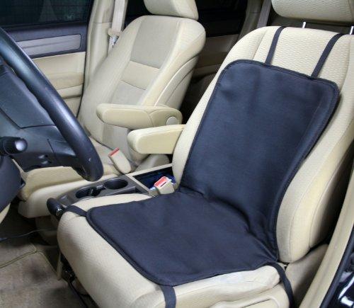 Preisvergleich Produktbild ObboMed SH-4100 12V 45W beheizbares Sitzkissen Polster Sitzauflage Sitzheizung,UTILITY Model, Schwarz