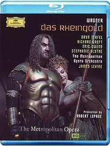 Das Rheingold: Metropolitan Opera (Levine) [Blu-ray] [2013] [NTSC]