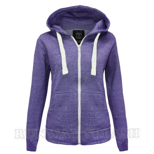 Runway Splash - Sweat à capuche -  Femme - Purple Marl