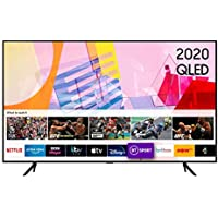 "Samsung 2020 50"" Q60T QLED 4K Quantum HDR Smart TV with Tizen OS Black"