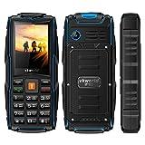 vkworld New Stone V36,1cm schlicht Ältere Phone Triple Sim IP68Wasserdicht Stoßfest Staubdicht 3000mAh große