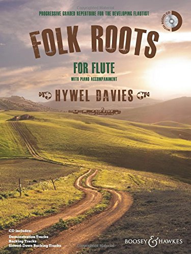Folk Roots for Flute - flute and piano - edition with CD - ( BH 12678 )