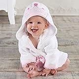 Lovely Little Mouse Panda Baby Accappatoio in puro cotone con cappuccio accappatoio spiaggia asciugamano da bagno/topi top spa accappatoio neonato poncho principessa