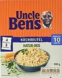Produkt-Bild: Uncle Ben's Natur-Reis 10-Minuten Kochbeutel, 4er Pack (4 x 500 g)