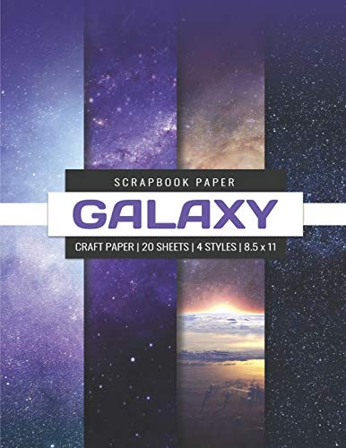 er: Galaxy Craft Paper, Decorative Paper Pad, Designer Paper Pad For Scrapbooking, Printmaking, Origami DIY Craft Projects (Scrapbook Paper Pack, Band 1) ()