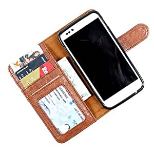 For Micromax Bolt A26 - PU Leather Wallet Flip Case Cover