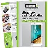 dipos I 2X Schutzfolie matt passend für Vodafone Smart Prime 7 Folie Bildschirmschutzfolie