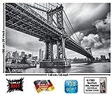 GREAT ART XXL Poster - Manhattan Bridge New York USA -