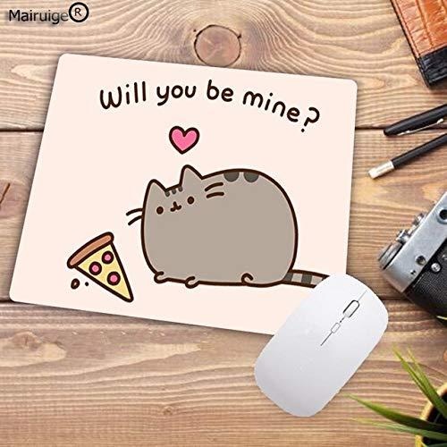 22X18CM Lustige süße Katze Tier Muster kleine Pc Tablet Player Computer Laptop Mauspad Schmücken Sie Ihre Desktop Mauspad von Computer und Büro 22X18CM -