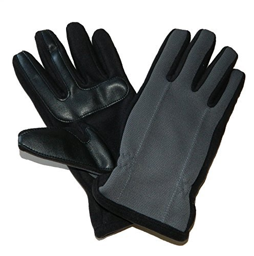 Isotoner Men's smarTouch Tech Stretch Gloves - THERMAflex Lined (X-Large