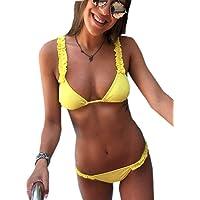 JFan Costumi da Bagno Donna Bikini Donna Swimwear Sexy Imbottito Push-Up Estivo da Donna