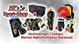Warrior ALPHA Eishockey Starterset Senior zum Monsterpreis, Größe:S