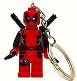 Deadpool Minifigure Keyring