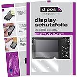 dipos I 6X Schutzfolie klar passend für Sony Cyber-Shot DSC-RX100 V Folie Displayschutzfolie