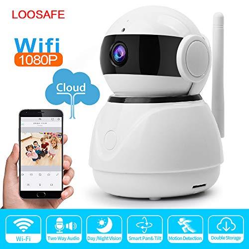 TONGTONG Mini 1080P Cloud Storage IP Camera WiFi Security Home Security Surveillance P2P CCTVNetwork Camera Night Vision