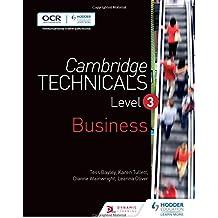 Cambridge Technicals Level 3 Business (Cambridge Technicals 2016)