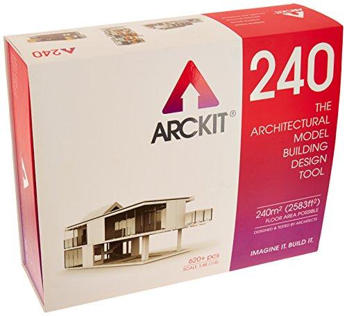 Arckit 240 Baukasten für Architekturmodelle, 1:50/1:48 Architectural Construction Set