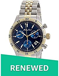 (Renewed) Mathey-Tissot Analog Blue Dial Mens Watch - H1822CHABU