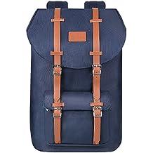 PRASACCO Laptop Rucksack Backpack Wanderrucksäcke Handgepäckrucksack 17 Zoll Notebook Rucksack für 15.6 Zoll Laptop Daypacks für Outdoor Reisen Wandern belastbar 15Kg