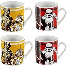 Jarras de Star Wars Faction Espresso Cups 4 Pack