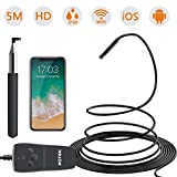Best Inspection Cameras - ROTEK Wireless Endoscope,1080P WiFi Inspection Camera 2.0MP HD Review