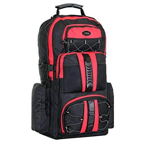large-65-litre-travel-hiking-camping-rucksack-backpack-holiday-luggage-bag-black-red