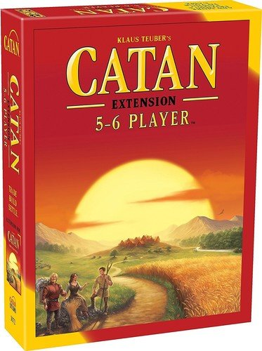 Catan MFG03072 - Brettspiele, The Settlers of Catan 5-6 Player Expansion